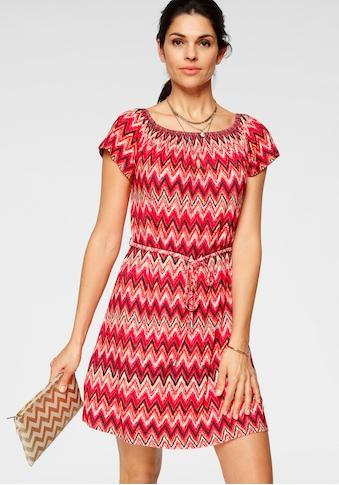 Laura Scott Jerseykleid, mit Carmenausschnitt kaufen