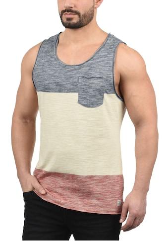 Blend Tanktop »Johans«, ärmelloses Shirt in Tricolor-Streifen-Optik kaufen