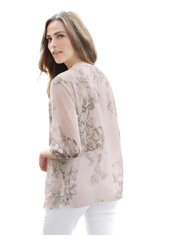 Classic Basics Bluse aus luftigem Chiffon kaufen