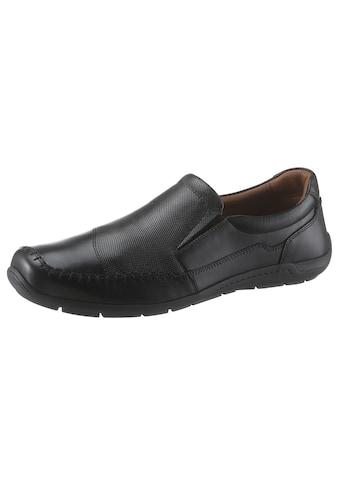 PETROLIO Slipper, mit geprägtem Leder kaufen