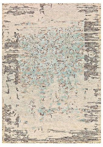 Teppich, »Damast 8067«, Arte Espina, rechteckig, Höhe 12 mm, handgetuftet kaufen