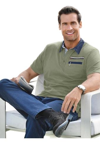 Marco Donati Kurzarm - Shirt mit konfektioniertem Kragen kaufen