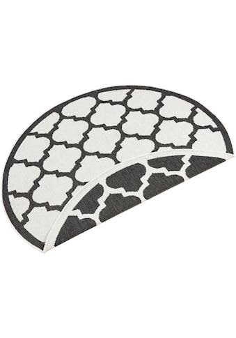 bougari Teppich »Palermo«, rund, 5 mm Höhe, In- und Outdoor geeignet, Wendeteppich, Wohnzimmer kaufen