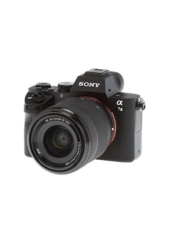 Fotokamera, Sony, »Alpha 7 II Kit 28 - 70 - CHF 150 Cashback« kaufen