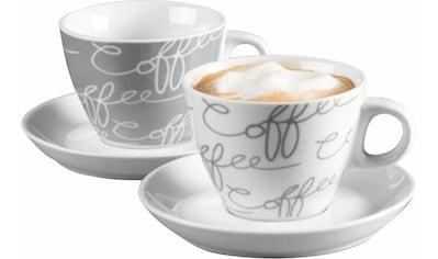 """Ritzenhoff & Breker Cappuccinotasse """"Cornello Grey"""" (4 - tlg.) kaufen"""