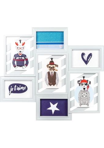 Walther Galerierahmen »Collage Mr Gorgeous«, für 7 Bilder kaufen