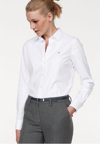 Gant Hemdbluse, mit dezenter Logostickerei kaufen