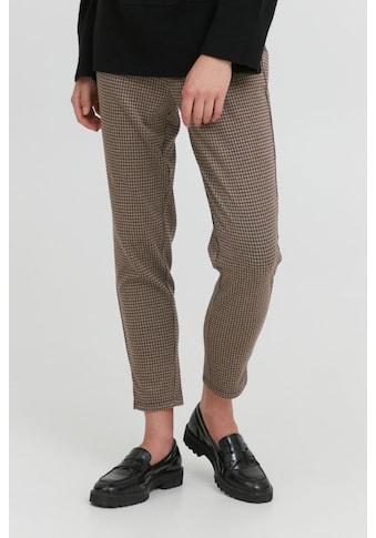 Ichi Anzughose »IHMANSE PA3 20115145«, Sweathose mit Hahnentritt-Muster kaufen