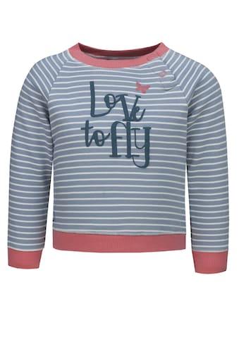 lief! Sweatshirt mit Streifen und Print »Love to fly« kaufen