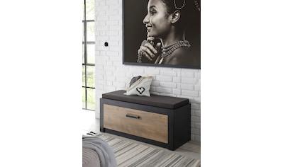my home Schuhbank »Bruegge«, mit einer dekorativen Rahmenoptik kaufen