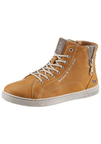 Mustang Shoes Sneaker, mit kleinem Zierreissverschluss kaufen