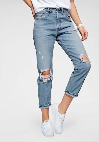 Levi's® Destroyed - Jeans »501« kaufen