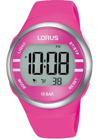 LORUS Chronograph »Lorus Digital Chrono, R2343NX9« kaufen