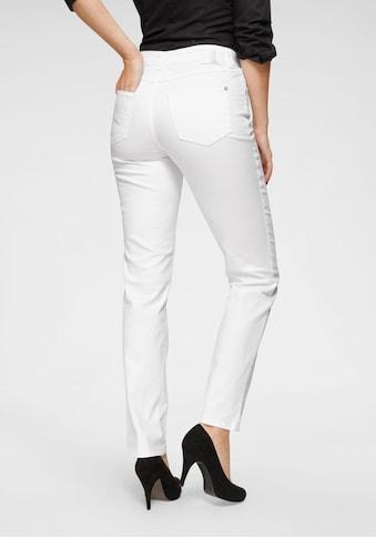 MAC Gerade Jeans »Melanie New«, Neue Teilungsnähte an den vorderen Taschen kaufen
