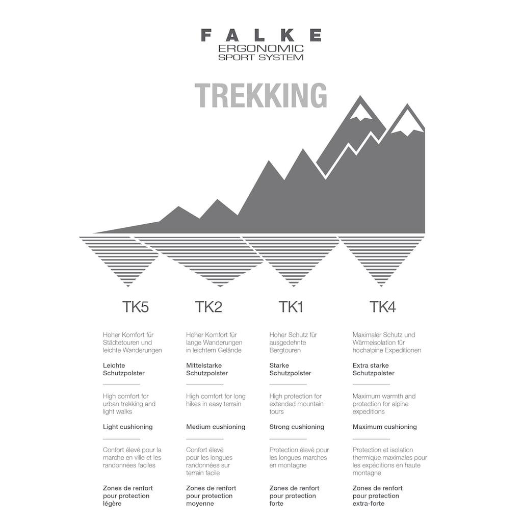 FALKE Wandersocken »TK5 Invisible Trekking«, (1 Paar), mit leichter Polsterung