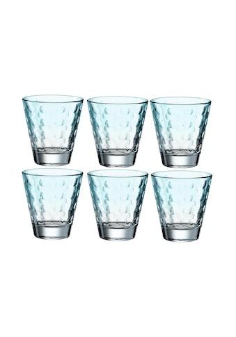 LEONARDO Glas »Optic Pastell 21«, (6 tlg.) kaufen