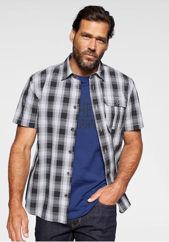 Man's World Kurzarmhemd (Set, 2 tlg., mit T - Shirt) kaufen