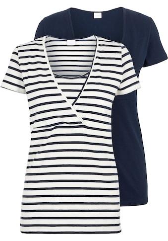 Mamalicious Stillshirt »MLLEA«, mit bequemer Stillfunktion kaufen