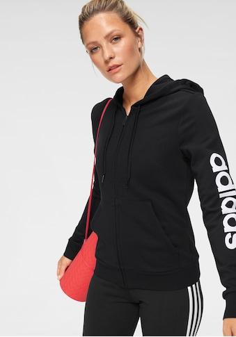 adidas Performance Kapuzensweatjacke »LINEAR FULL ZIP HOODIE« kaufen