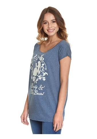 Disney T - Shirt »Beauty And The Beast Silhouettes« kaufen
