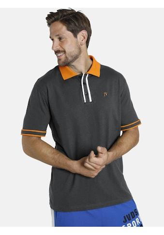 Jan Vanderstorm Poloshirt »ISFRIED«, weiche Baumwolle, Comfort Fit kaufen