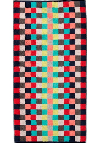 Cawö Badetuch »Splash Karo«, (1 St.), mit buntem Karo Muster kaufen