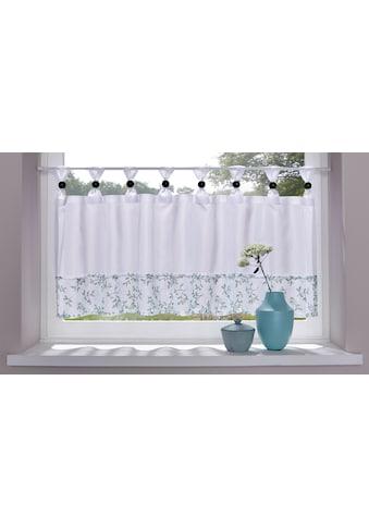 Scheibengardine, »Flora«, Home affaire, Schlaufen 1 Stück kaufen