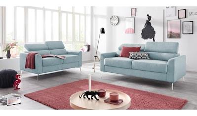 INOSIGN Sitzgruppe »Juno«, in trendigen Farben, in 3 unterschiedlichen... kaufen