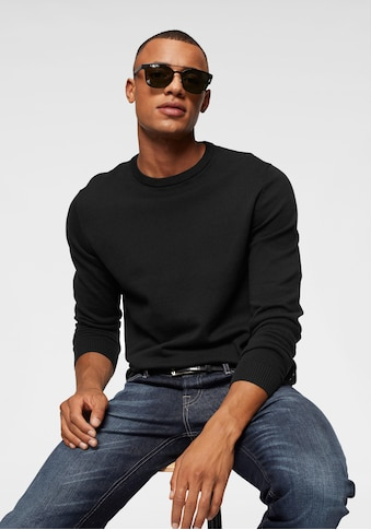 Jack & Jones Rundhalspullover »BASIC KNIT CREW NECK« kaufen