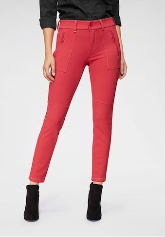 MAC 7/8-Hose »Vision Pants«, Kopntrastfarbene Nähte kaufen