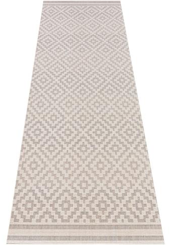 Läufer, »Raute«, bougari, rechteckig, Höhe 8 mm, maschinell gewebt kaufen