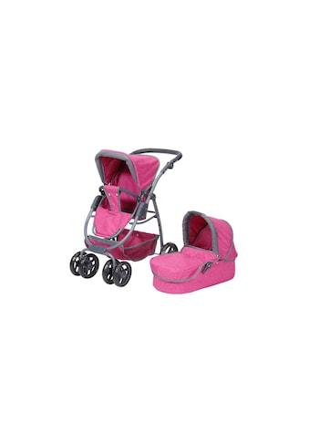 Knorrtoys® Kombi-Puppenwagen »Coco Pink« kaufen