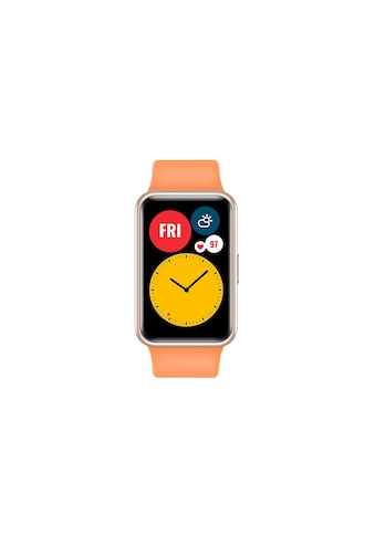 Huawei Smartwatch »Fit Cantaloupe Orange«, ( ) kaufen