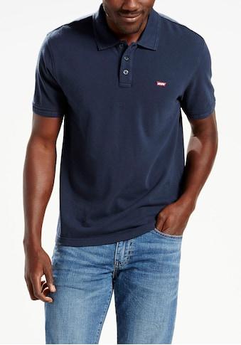 Levi's® Poloshirt, Piqué-Qualität kaufen
