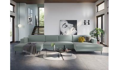 DOMO collection Wohnlandschaft »Modica«, XXL, in moderner Optik mit, 2 grosszügigen... kaufen