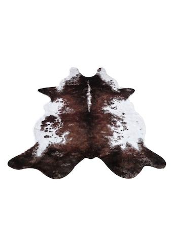 Fellteppich, »Emil«, my home, fellförmig, Höhe 8 mm, maschinell gewebt kaufen