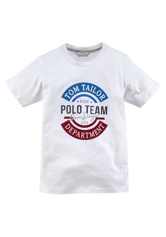TOM TAILOR Polo Team T-Shirt »POLO TEAM San Diego« kaufen