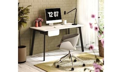 """Schreibtisch »Tes«, Schreibtisch """"Tes"""" mit 1 Schublade, wahlweise links/rechts montierbar kaufen"""