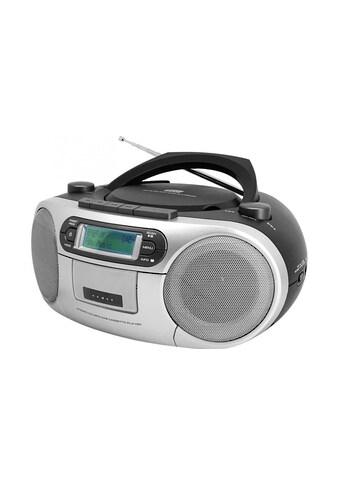 Soundmaster Digitalradio (DAB+) »Boombox SCD7900SW Schwarz Silber«, (CD Digitalradio... kaufen