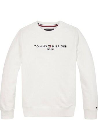 TOMMY HILFIGER Sweatshirt »ESSENTIAL CN SWEATSHIRT« kaufen