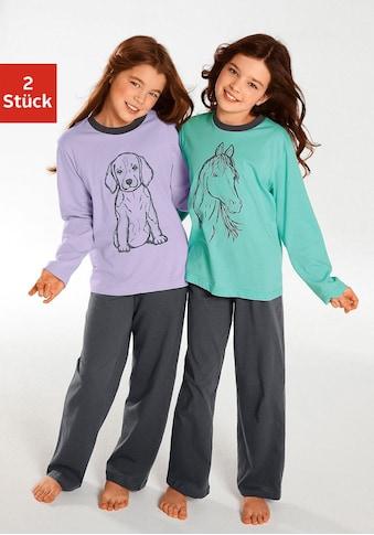 Pyjama (2 - tlg., 2 Stück) kaufen