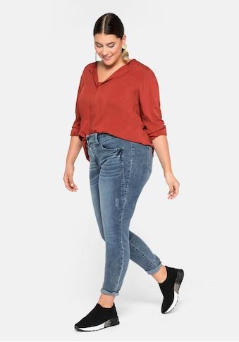 Sheego Stretch-Jeans, in Skinny Passform kaufen