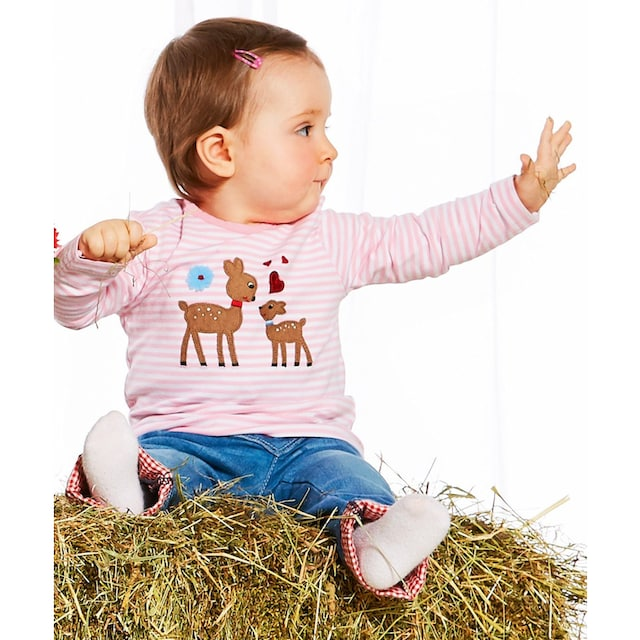 BONDI Trachtenshirt Kinder mit Bambi Applikation