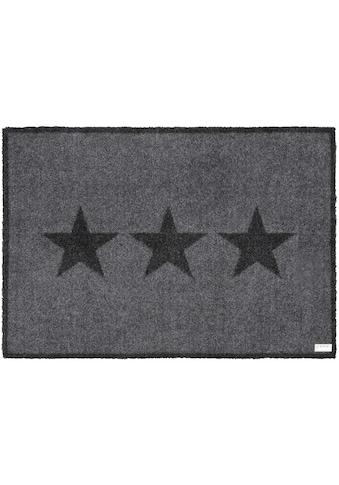Fussmatte, »Sterne«, Zala Living, rechteckig, Höhe 7 mm, maschinell getuftet kaufen