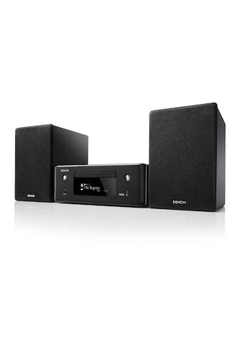Denon Stereoanlage »CEOL N10 Schwarz«, (CD-Bluetooth-WLAN... kaufen