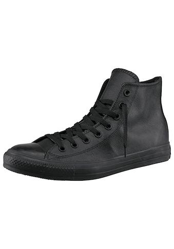 Converse Sneaker »Chuck Taylor All Star Hi Monocrome Leather«, Monocrom kaufen