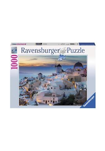 Ravensburger Puzzle »Abend in Santorini« kaufen