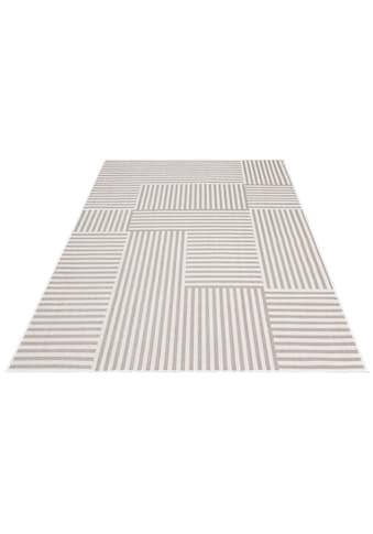 GOODproduct Teppich »Danni«, rechteckig, 5 mm Höhe, In-und Outdoor geeignet, Wohnzimmer kaufen