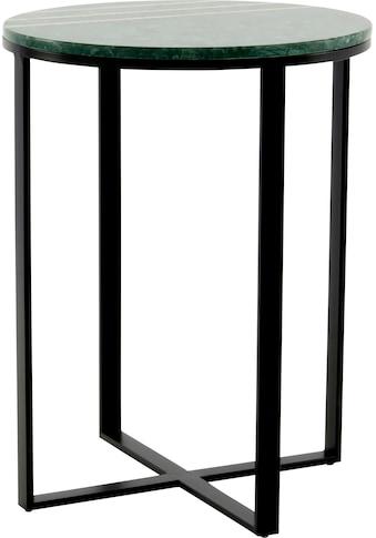 Kayoom Beistelltisch »Beistelltisch Louis 325«, Marmor-Tischplatte kaufen