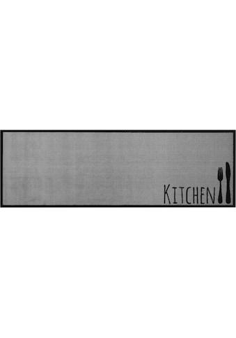 Küchenläufer, »Cutlery«, Zala Living, rechteckig, Höhe 5 mm, maschinell getuftet kaufen